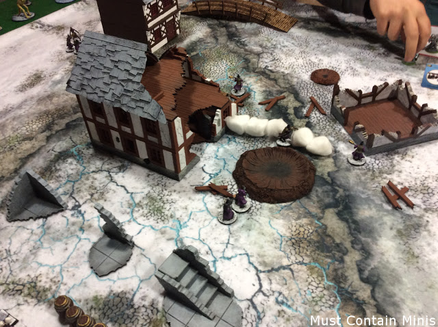 XOLK MDF House in use for Frostgrave