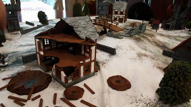 XOLK Ruins - MDF Terrain