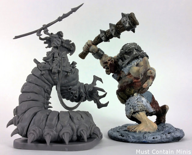 Miniatures Review of Undead Waiqar miniatures in Runewars