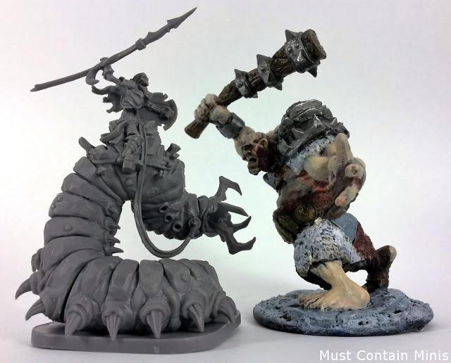 Runewars Miniatures Game Scale Comparison (Part 1)