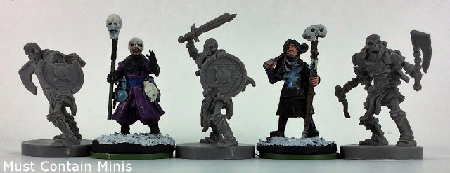 More Runewars to Frostgrave scale comparisons
