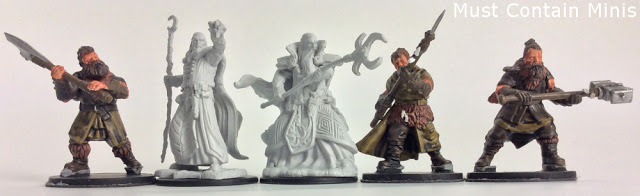 A look at Wiz-Kids unpainted D&D minis for Frostgrave
