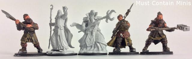 Spotlight on Wiz-Kids unpainted D&D Miniatures