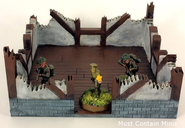 XOLK MDF Cottage in Ruins Terrain Review for Wargaming