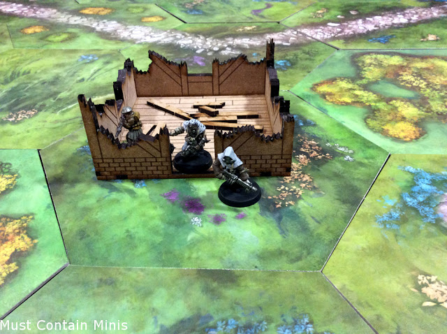 Review of a Ruined Cottage by XOLK - Makers of MDF Terrain