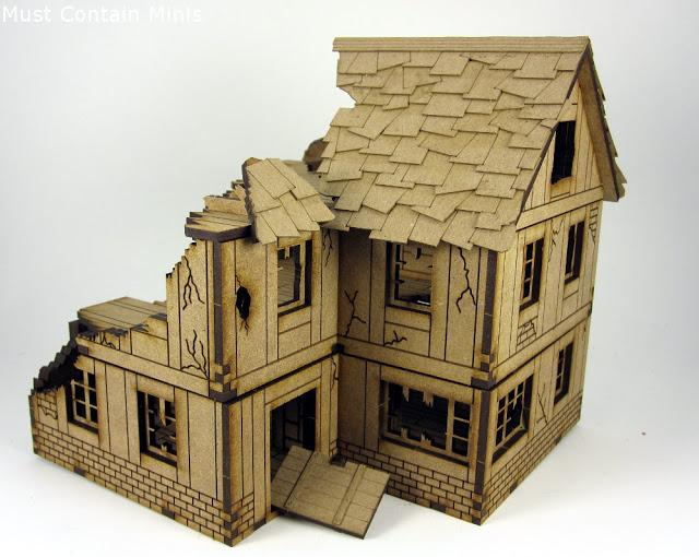 XOLK Norman House in Ruins