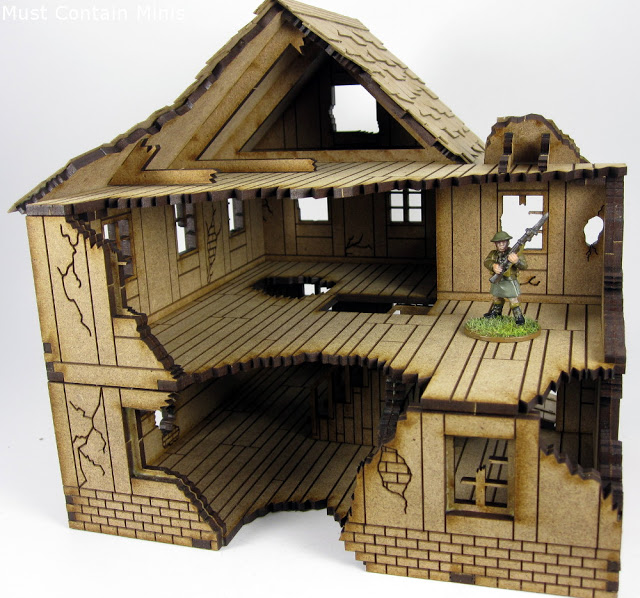 Gift Ideas for Miniature Wargamers - Terrain and MDF buildings
