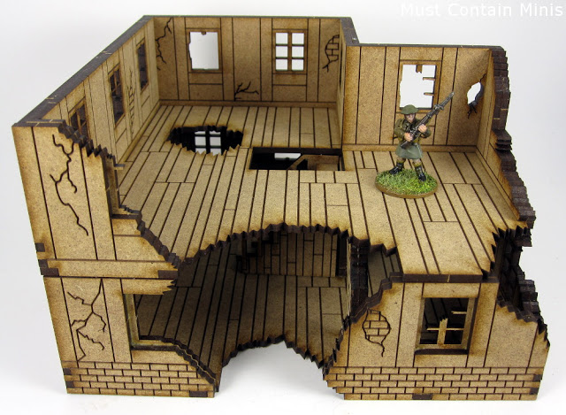 Review of MDF Scenery for wargaming