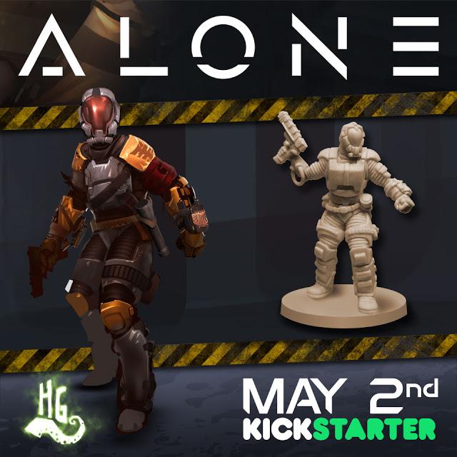 Alone's Hero miniature