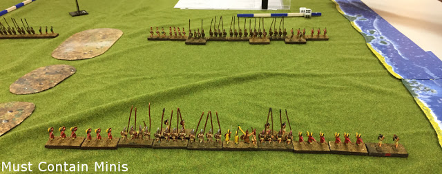 DBA Demo Game – Battle Report and Impressions