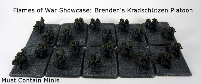 Flames of War Showcase: Brenden's Kradschützen Platoon