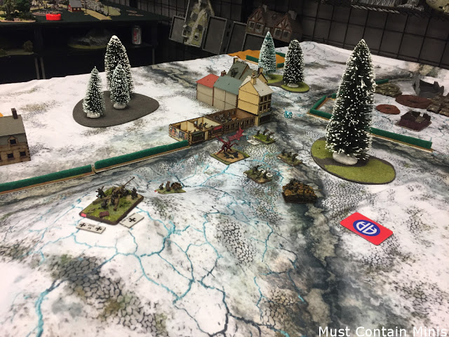 Flames of War Tournament: Battle Report 3 [February 2017]