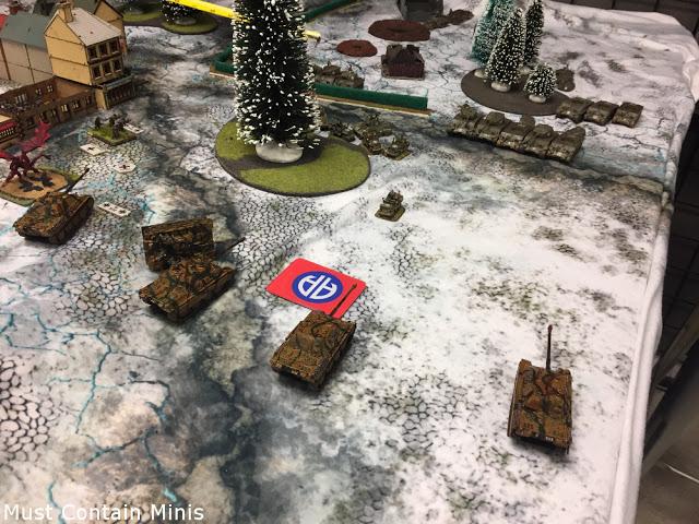 Flames of War Tournament Battle Report