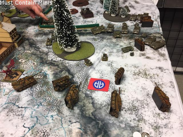 German defeat - Flames of War Battle Report
