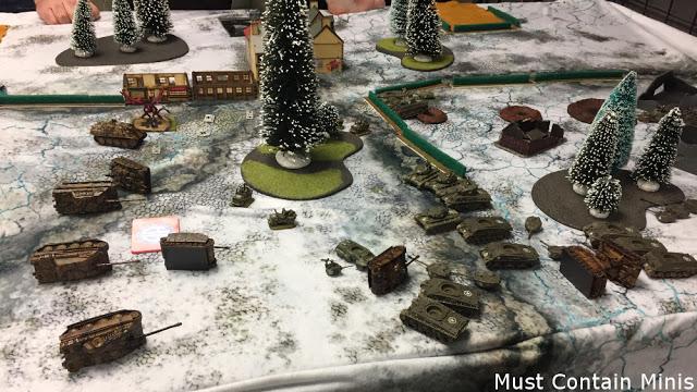 German defeat - Flames of War Battle Report - Tournament Report