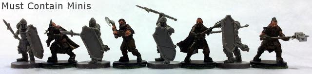 Runewars figures size comparison to Frostgrave minis