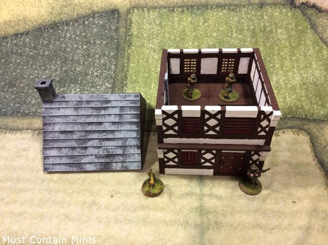 MDF Terrain Review: 15th Century Urban Dwelling by XOLK (28mm)