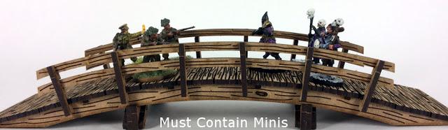 MDF Terrain Review: Wooden Bridge by XOLK (28mm)