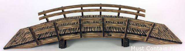 XOLK MDF Wooden Bridge for Wargaming