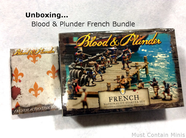 Unboxing Blood & Plunder – French Bundle