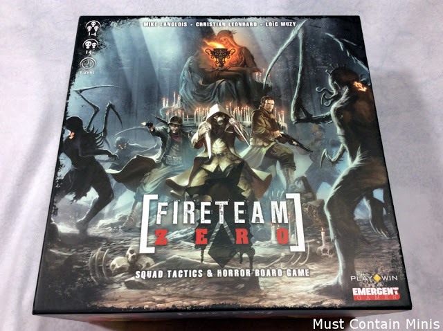 Fireteam Zero Unboxing