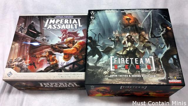 Fireteam Zero vs Imperial Assault