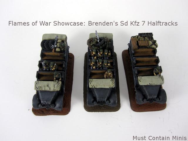 Flames of War Miniature Showcase - Sd Kfz 7 Halftrack