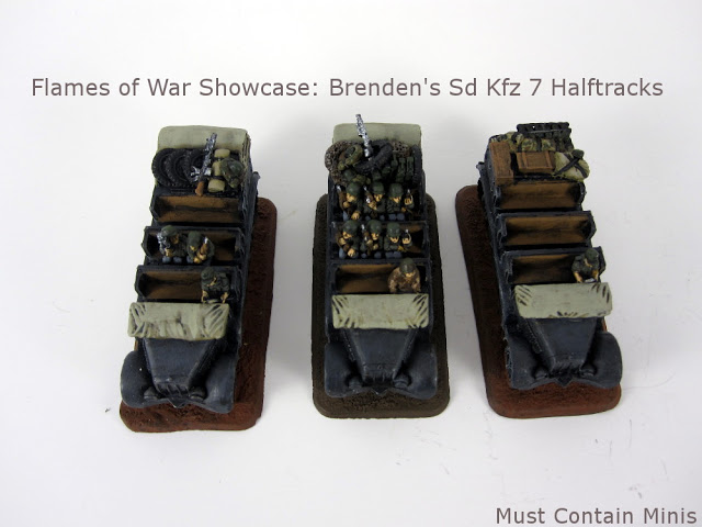 Brenden's Sd Kfz 7 Halftracks: Flames of War Showcase