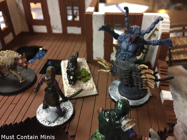 Tiszirain is Summoned!!! Frostgrave Battle Report