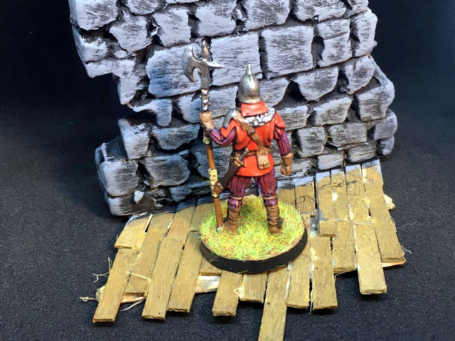 Painted Miniatures from Conan the Board Game - Guard