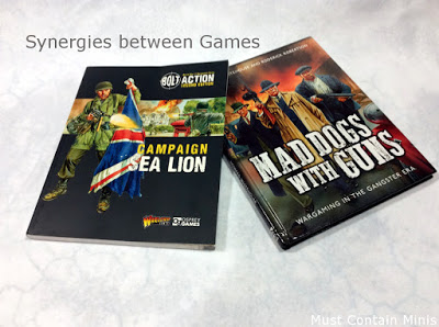 Synergies between Mad Dogs with Guns and Bolt Action: Sea Lion