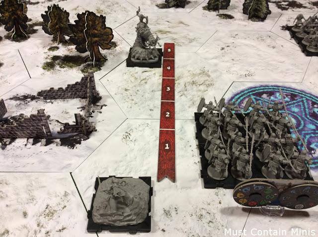 Shooting in Runewars