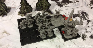 Runewars Battle Report in a Snowfield
