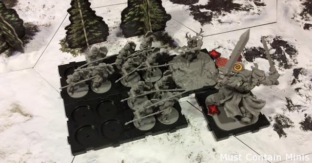 Runewars Battle Report in a Snowfield
