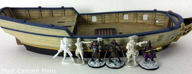 Blood & Plunder Miniature Scale Comparion - Firelock Games, to North Star (Frostgrave), to Reaper Miniatures