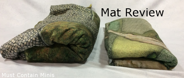 Review: Cigar Box Battle's Kickstarter Mat (Double-Sided Plush Mat)