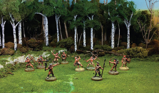 Native Americans for the Wargame Flint and Feather