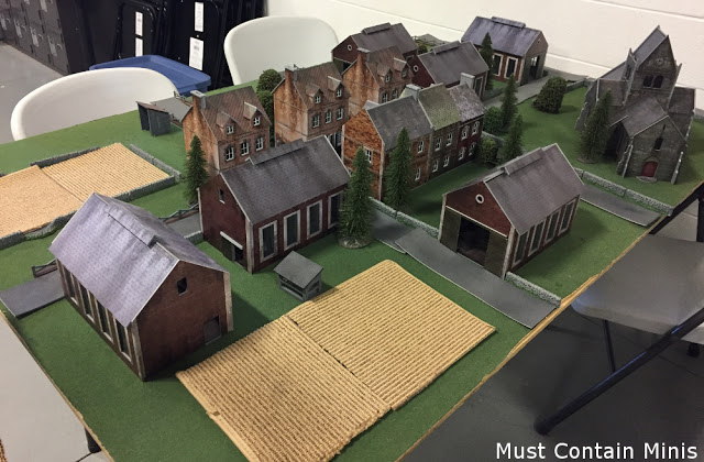 A Bolt Action Battleboard - lots of terrain