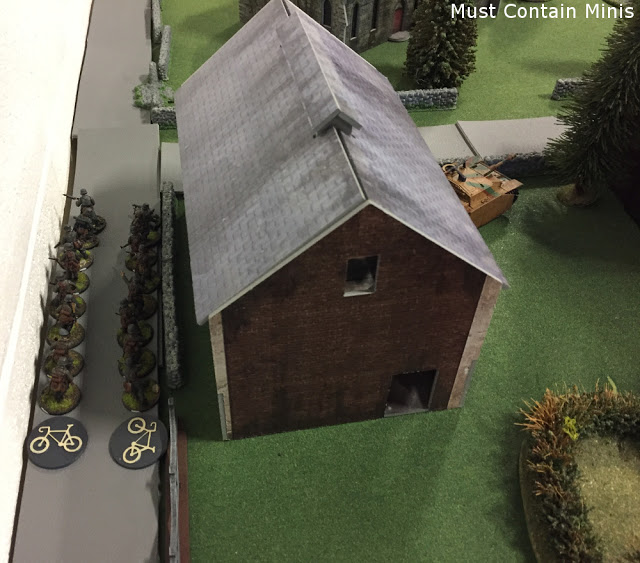 Bolt Action troops on bicycles