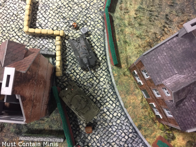 Bolt Action Battle Report - StuG vs Sherman