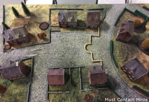 Bolt Action Battle Report (1200 points) – British vs German