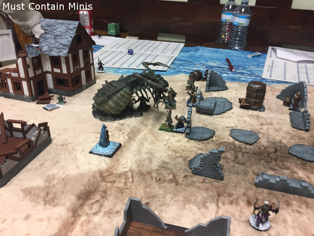 Frostgrave with an Archipelago and Cthulhu theme