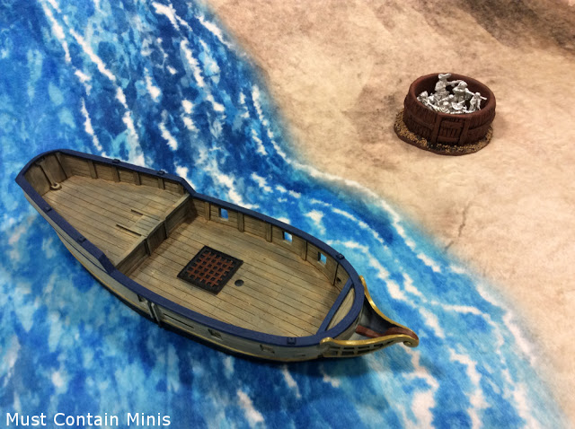 Terrain Review - Primitive Hut with Blood & Plunder miniatures