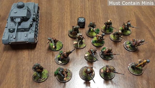 550 Point German Bolt Action Army