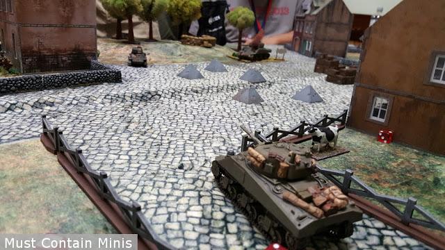 American vs French Tanks