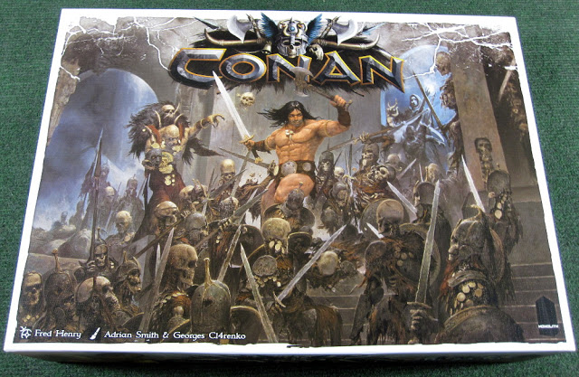 Review of Conan the Board Game by Monolith Games - Retail copy by Asmodee
