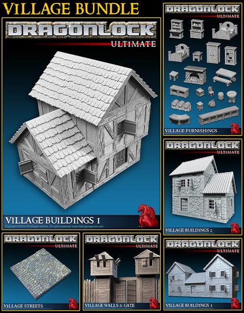 DRAGONLOCK Ultimate Village