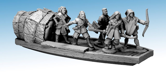 Frostgrave: Ghost Archipelago Nickstarter – Bring in the Boats!