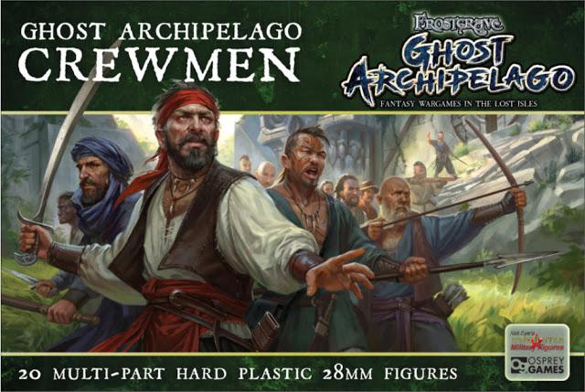 Frostgrave: Ghost Archipelago Nickstarter – The Crews