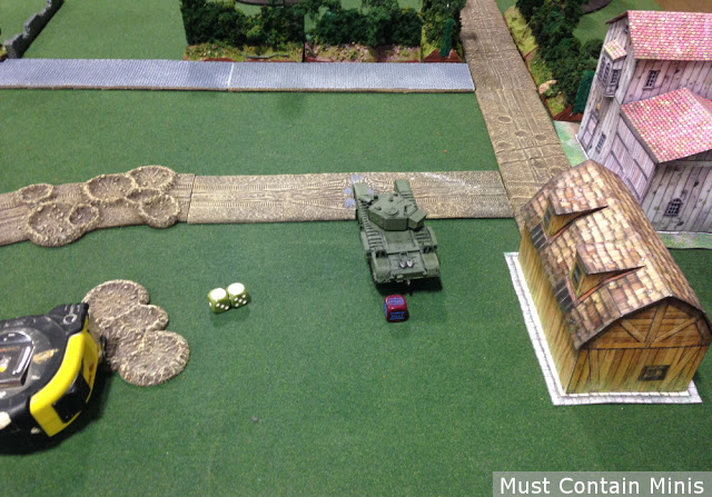 Using Paper terrain in Bolt Action